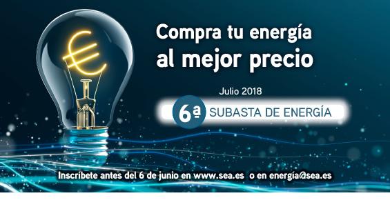 6ª Compra Agrupada de Energía