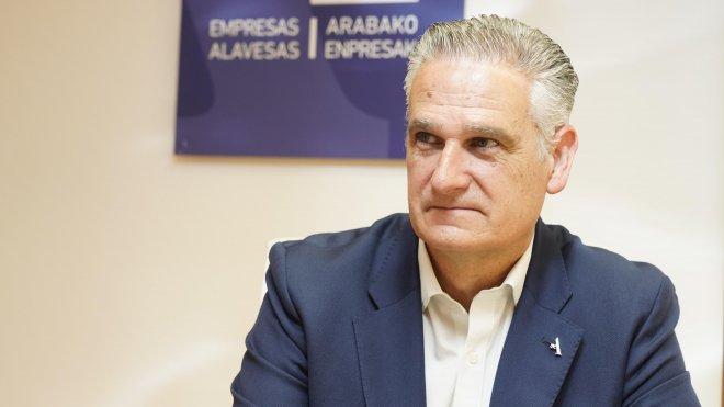 """Juan Ugarte: """"La competitividad de las empresas no se gana por sentencia y Tubacex necesita ajustes""""."""